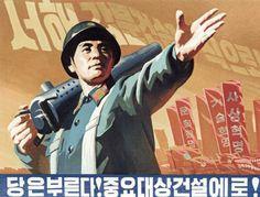 140 Very Rare Vintage North Korea Communist Propaganda Posters, (Hi Resolution, .jpg) on CD-ROM on Etsy, Communist Propaganda, Propaganda Art, Gu Family Books, Big Bang Top, Pixel Image, Japanese Sleeve Tattoos, China Art, Jung Yong Hwa, Communism