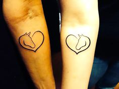 A beautiful and meaningful tattoo that bounds two people in love. Represent freedom, devotion and strength.