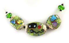 Lampwork bead set