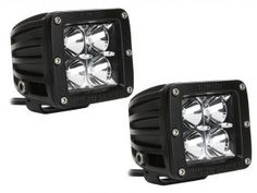 Rigid Industries 20211 - Rigid Industries Dually LED Light Pair - Flood Pattern - Quadratec