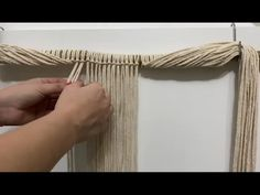Knots, Handmade, Crafts, Diy, Color, Ideas, Tapestry Weaving, Macrame Wall Hangings, Clothing