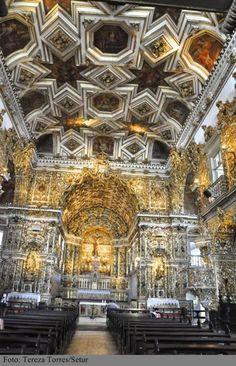 Interior da Igreja de São Francisco.