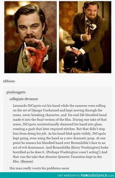 Why doesn't Leo have a f*cking Oscar yet?!