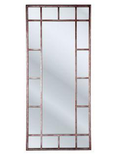 Espejo industrial metallic material forja o hierro espejo for Espejo pared cuerpo entero