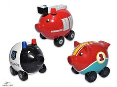Spaarpot Car Pig