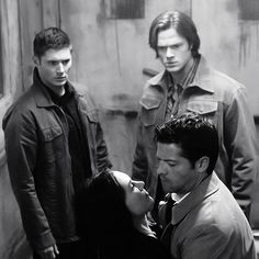 Pizza Man <3 #Supernatural 6x10 Caged Heat. Love the reactions from Dean and Sam.