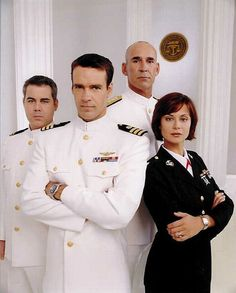 JAG - the Chegwidden years.  Oh yeah and David James Elliott in uniform!!