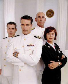 JAG - the Chegwidden years.  Oh yeah and David James Elliott in uniform!!