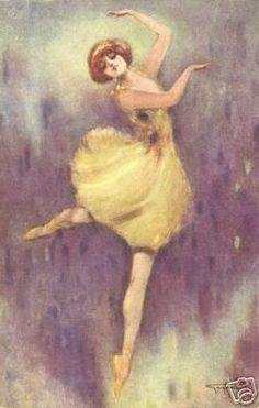 BALLET DANCING Ballroom print art Dance On Pointe | eBay