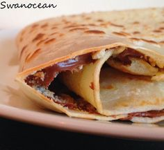 Crepes with chocolate-Κρέπες σοκολάτας