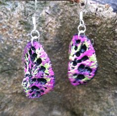 Black,pink and lime on Etsy, $30.00
