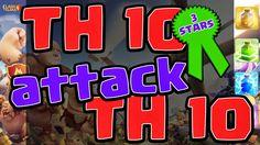 Clash of Clans TH 10 Attack TH 10 3 Stars Clan War   Y Channel : https://www.youtube.com/channel/UC2SiB2IYhPOqAZZIeB4BNmQ