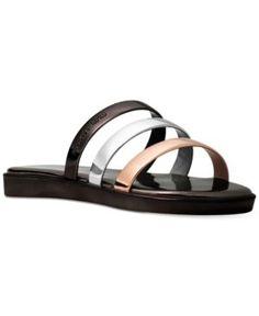 Nine West Zioli Flat Sandals Women's Shoes O69EYHB