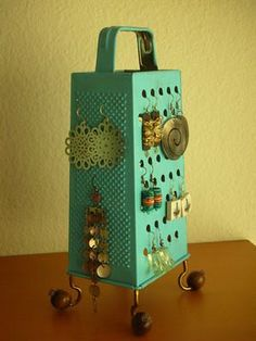 Repurpose an old cheese grater!