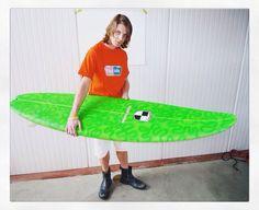 "big Fat tail'n skinny spoon nose. Schroff surfboards super selies ""Gloria"""