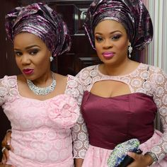 Glamorous, Trendy & Intensely Hued WDN Aso-Ebi Styles | Wedding Digest Naija