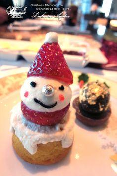 Christmas Afternoon Tea ❤ The Lobby Lounge @ Shangri-La International Hotel | grandioso