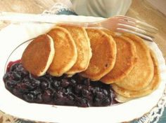 Healthy Recipes, Healthy Food, Pancakes, Breakfast, Blog, Eat, Healthy Foods, Morning Coffee, Healthy Eating Recipes