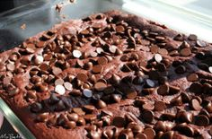 This 4-Ingredient Chocolate Dump Cake recipe is heaven on a plate. It uses chocolate cake mix, chocolate pudding, and chocolate chips for a decadent chocolate dessert. You can easily make this for a party and it will be gone in seconds.