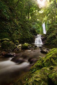 Kabigan Falls, Pagudpud, Ilocos Norte, Philippines