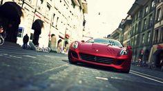 A red #Ferrari.