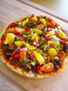 Black Bean Taco Pizza - Vegan & Addictive!