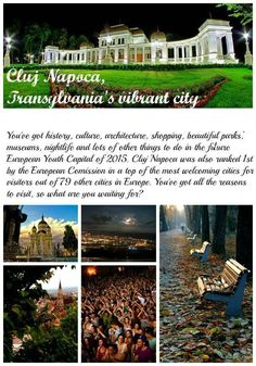 Cluj Napoca - the capital city of Transylvania