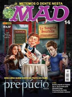 Mad Magazine Covers | Harry Potter Vs. Twilight MAD Magazine cover