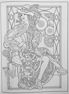 Creative Haven Steampunk Fashions Coloring Book (Creative Haven Coloring Books): Marty Noble: 0800759797486: Amazon.com: Books