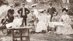 The Victorian picnic. Once only reserved for wealthy hunters and country people out on their estates, it was the Victorians who popularised the picnic and made it commonplace, with writers like Dickens, Trollop and Jane Austen all adopting the convention in their books.