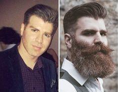 15 Hombres presumen su cambio después de cortarse barba por una buena causa