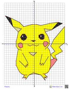 Pikachu- Why not? Learning graphing is an excellent skill and the cartoon subjects are good to do at the very end of the year for fun.