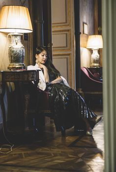 BoA is an actress and singer with a strong following. And this is her Style Lab.