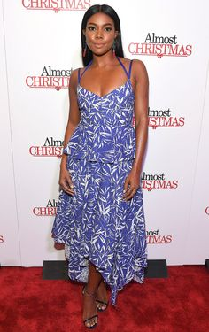 Gabrielle Union in Prabal Gurung attends the 'Almost Christmas' Atlanta premiere. #bestdressed