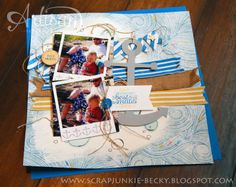 Such a fun scrapbook page!