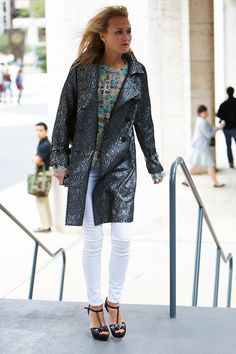 First-Date Outfit Idea: Use Bold Patterns to Exude Confidence