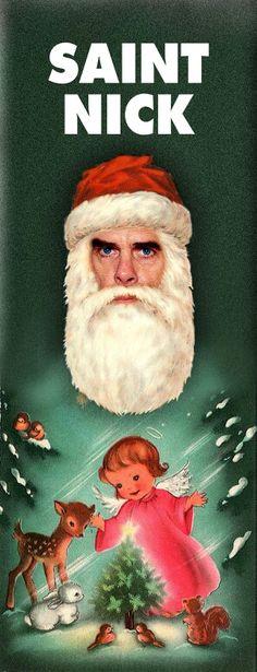 Saint Nick Cave - gotta make this my next Xmas card!