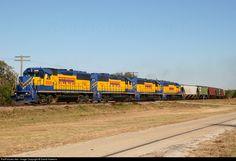 RailPictures.Net Photo: FWWR 2008 Fort Worth & Western EMD GP50 at Bluff Dale, Texas by David Hawkins