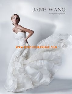 Jane Wang Robe de Mariée Style Aimee