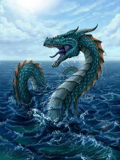 Dragon de agua que lo disfruten (^O^)