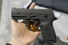 New Sig Sauer P320 in 9MM, 357 SIG, and 40S&W