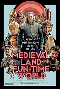 """Medieval Land Fun-Time World"" poster, by Bad Lip Reading Art Print"