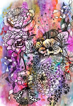 New design by Stephanie Corfee: Hot House Flowers https://www.istyles.com/designs/hot-house-flowers-p-263581.html