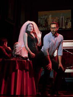 Nerd ♥ ~ Zachary Levi giving a lucky lady a lap dance on Broadway