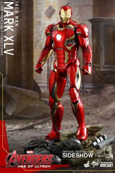 Pre-Order Hot Toys Marvel Iron Man MK XLV Age of Ultron Diecast