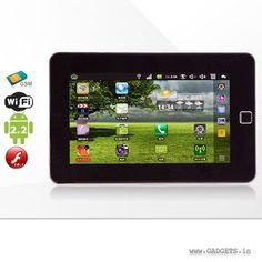 7 in Android Touch Screen Tablet PC with Calling Unique Gadgets, Ipad Tablet, Computer Accessories, Android, Touch