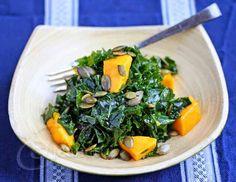 Kale-Mango Salad
