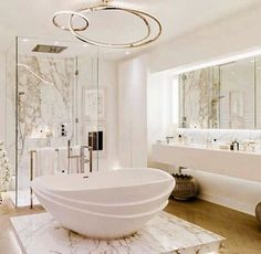 Still trying to convince my boyfriend to do this in our guest room lol! #HomeDeco #modernDeco #Bathroom