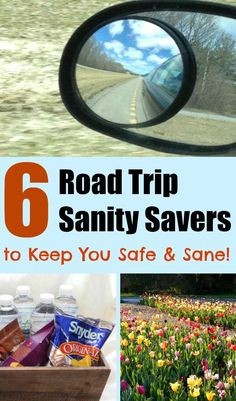 6 road trip sanity savers to keep you safe and sane for the next time you kit the road! From tech to snacks and maintaining your vehicle, these are tips you definitely need to use!  #RoadTripOil #CollectiveBias AD