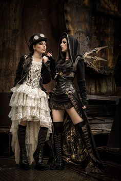 Steampunk Fashion Guide: Steampunk Good & Evil